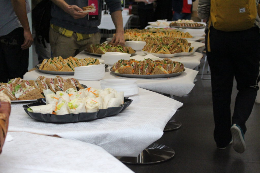 Catering at WordCamp London 2015