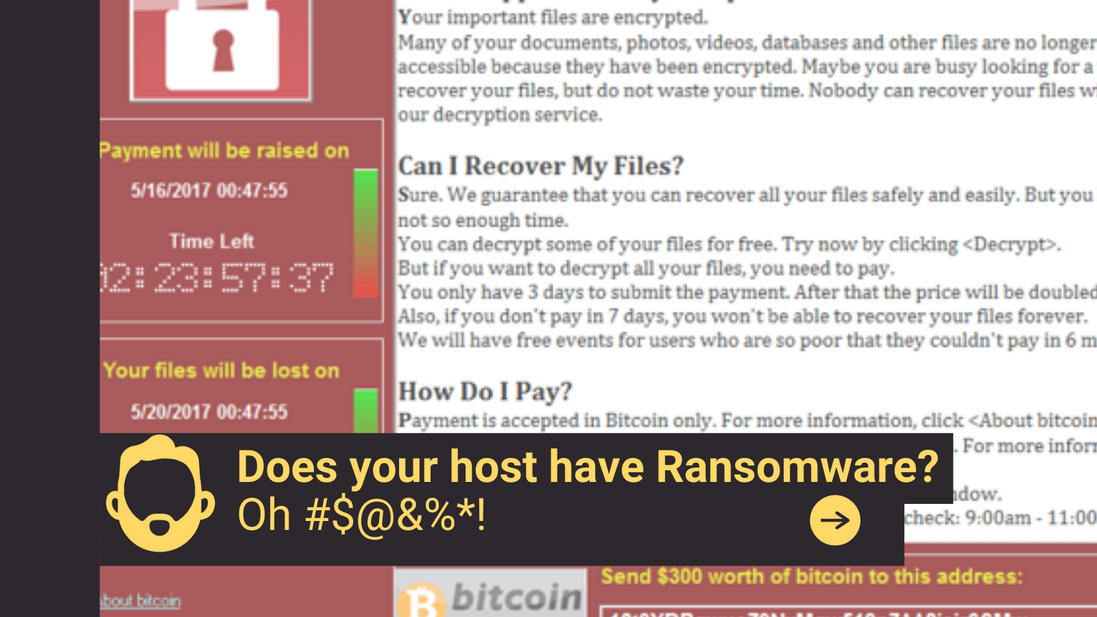 Does your host have Ransomware?