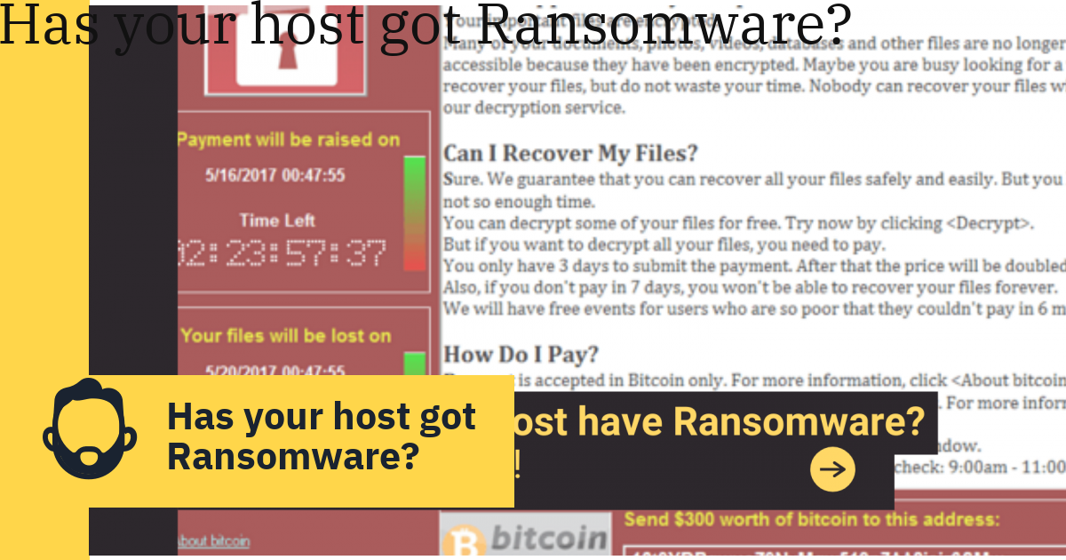 Has your host got Ransomware?